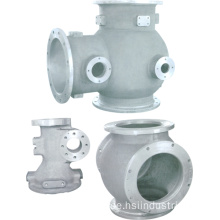 Aluminium Precision Casting Pipe Part