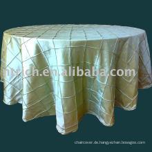 Bettbezug, Taft Tischdecke, Tischdecke, Tischwäsche für Hochzeit, Bankett, Hotel