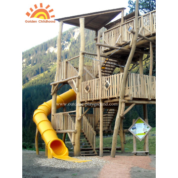 Outdoor Turbo Tube Slide Spielplatz für Kinder