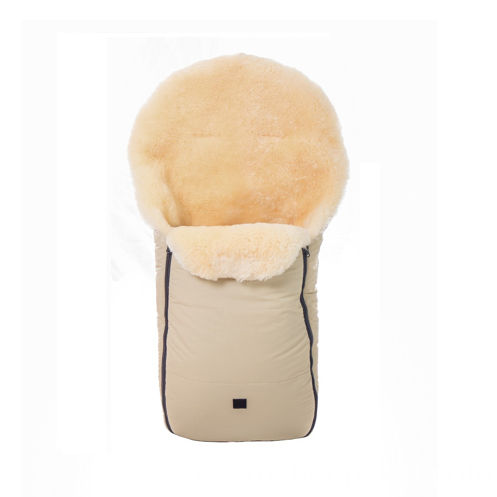 sheepskin sleeping bag