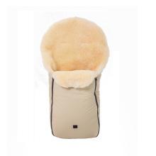 Saco de piel de cordero para bebé para bolsa de paseo de invierno