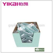 Wonder рекламная флокированная вешалка для одежды из пластика в маленькой картонной коробке