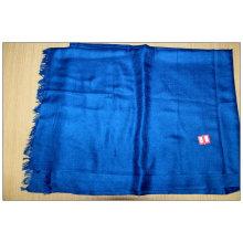 écharpe uni et laine couleurs unies