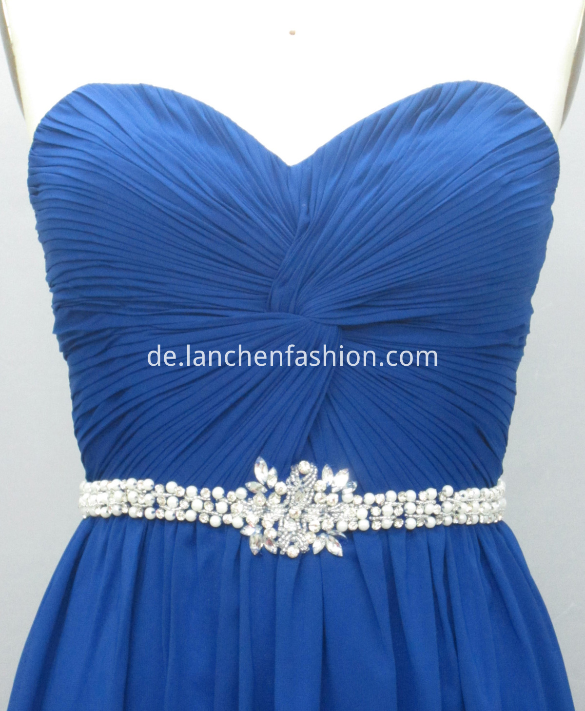 Beaded ROYAL detail