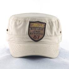 Bonnets militaires en toile avec patch de broderie