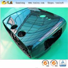 Bauleto de capa dura personalizado qualidade Chrome cor ABS para moto e
