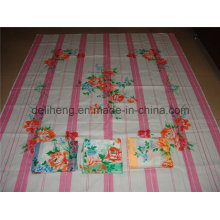 Fashion T/C 50/50 333 Printed Yarn Dyed Bed Sheet