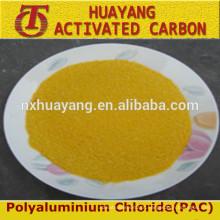 Fábrica de policloreto de alumínio pac 30% com preço mais baixo Tratamento de água / pac