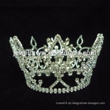 Cabelo Combs Rhinestone Amor Forma Coroa Cristal Nupcial Tiara Cabelo De Casamento