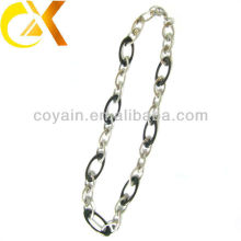 Wholesale stainless steel jewelry silver women's charm necklace