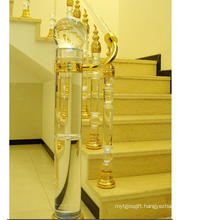 Fashion Crystal Glass Stair Railing Pillar Accessories for Home Decoration