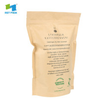 custom printed plastic stand up coffee pouches packaging with valve