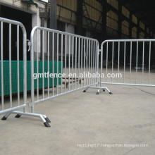 Fabricants de barrières de clôtures de sécurité routière en métal galvanisé à chaud