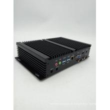 2 Intel 82583V Nics 6 COM SIM Industrial Fanless Mini Computador PC Servidor Windows Core I3 4010u HTPC Quadro