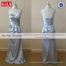 Сексуальный Пеплум платье серебристо-серый мать невесты платья до 14023