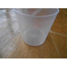 Copo de remédio 60ml de plástico descartável de medição