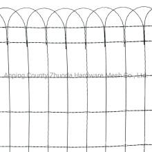 Amazon Ebay Choice Length 10m Green PVC Coated Hoop Top Garden Border Fencing (GBF)