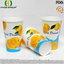12oz Free Samples Cold Beverage Paper Cup for Juice