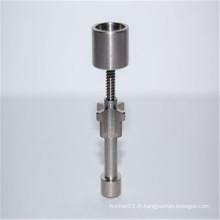 Drop Top - Clous en titane réglable de 18 mm pour tabac (ES-TN-043)