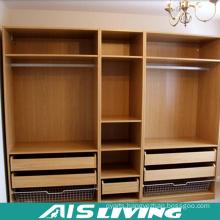 Wood Grain Functional Wardrobe Closet (AIS-W365)