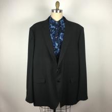 Customer design Men's plus size Classic black western suit