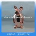 Lovely pig ceramic golden money banks,ceramic golden pig money banks