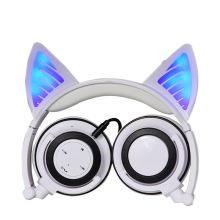 Bluetooth Kids Headphones With LED Flashing Lights