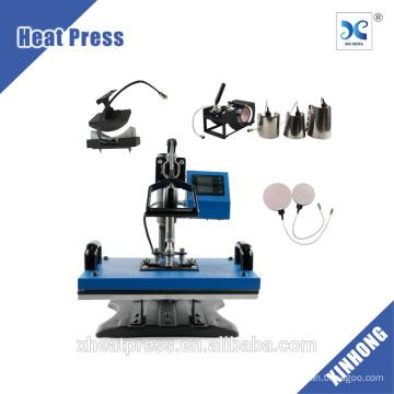 QUENTE! 8 em 1 Como Heat Press Machine HP8IN1