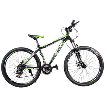 Transport Bunte Mountainbikes