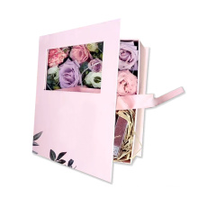 Flower box with Ribbon present storage box China factory