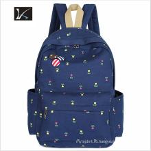 Самый лучший продавая изготовленный на заказ полиэфир водонепроницаемый студент рюкзак школа мешок/школу рюкзак/дети школьные сумки