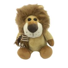 Шарф плюшевого льва