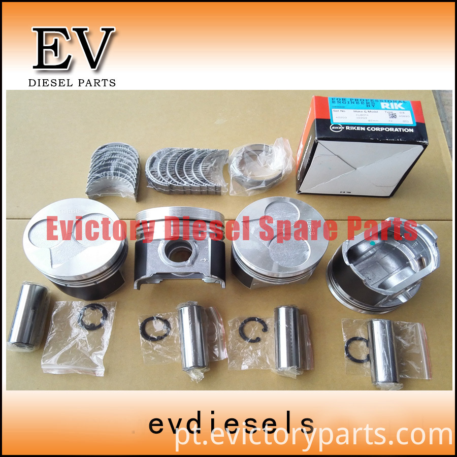 V2203 piston and bearing
