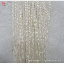 Strings de pérolas de Freswater de 1 mm de arroz (ES383)