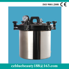 heatingl type portable mini steam sterilizer