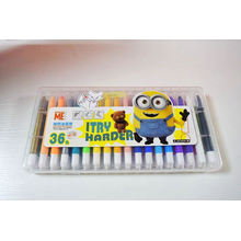 kiddy shape princess plastic box crayon