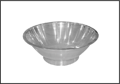 Stainless Steel Meat Stuffing Basin With Rack