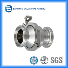 Food Grade Stainless Steel Sanitary Clamped Check Valve