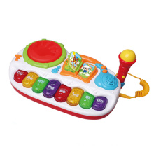 Juguetes de juguete de música eléctrica con micrófono (h0001222)