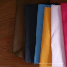 chemise en polyester rayonne tissée usine de tissu uniforme