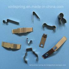 Customizied Edelstahl 4-Slide & mehreren Folien Stanzteile