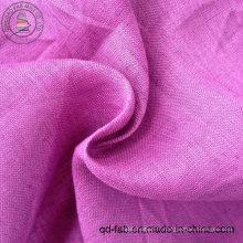 Tissu 100% toiles en lin teinté (QF13-0246)