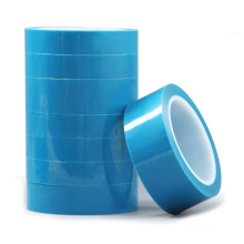 Manufactory Outlet PET Blue Transparent Fridge Non-trace Refrigerator Tape For Electrical Purpose