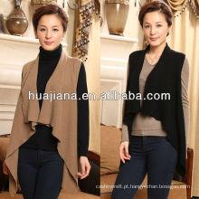 colete de poncho de caxemira feminino elegante e elegante
