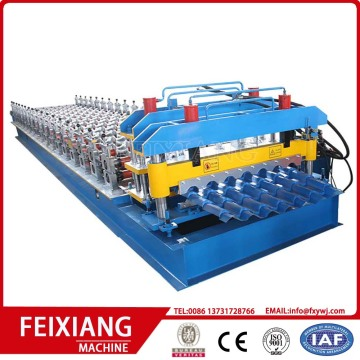 glazed roof tile forming machine