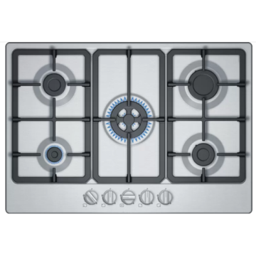 Gas Hobs UK Stainless Steel Top 90cm
