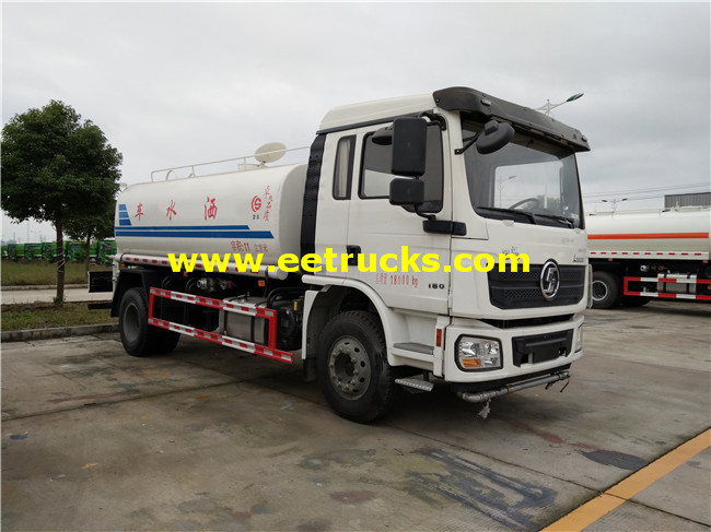 SHACMAN Water Tanker Trucks