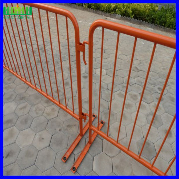 High quality galvanized crowd control barrier