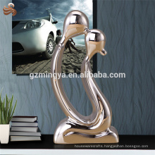 Wholesale decorative resin kissing sexy statue wedding favor