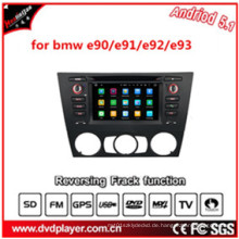 6.2inch Hla 8819 Auto DVD Spiel mit GPS Karte Android 5.1HD 1024 * 600 für BMW E90 / E91 / E92 / E93